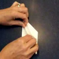 How To Make An Origami Paper Crane Video